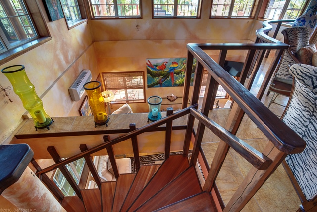 21 Spiral Staircase Top Ben Kim Chabil Mar Resort Belize