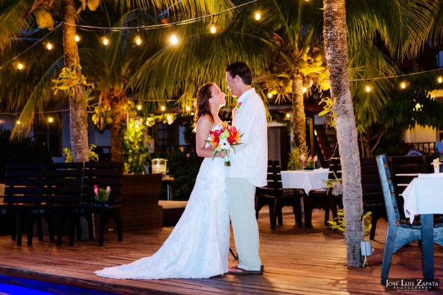 650 First Dance Night Wedding Chabil Mar Resort Belize