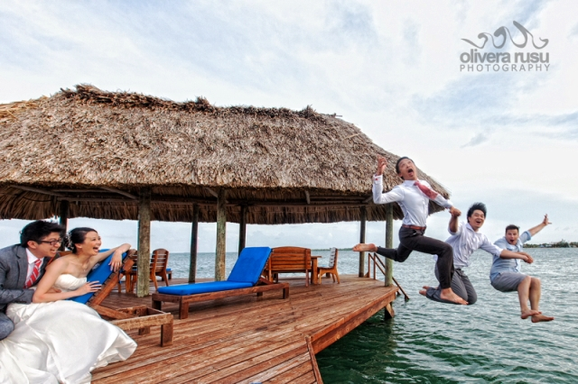 Pier Jumping Chabil Mar Belize Resort 650
