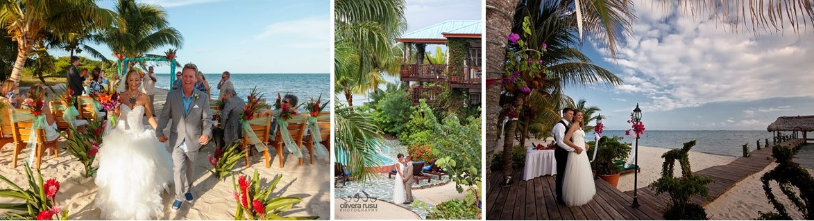 Wedding Web Site Banner Chabil Mar Resort Belize