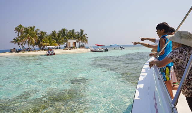 Silk Caye Arrival 2 - 650 - Chabil Mar Resort Belize