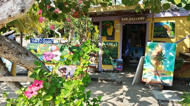 art shop chabil mar resort belize