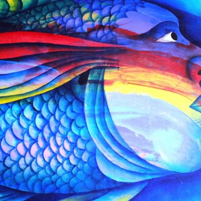 Belize Art is often very Colorful with Vibrant Imagery
