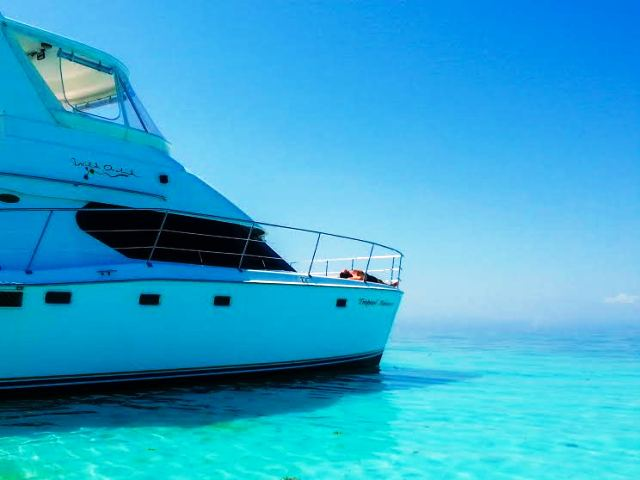 Wild Orchid Starboard to Bow 650 Chabil Mar Resort Belize