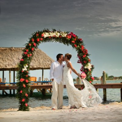 Beach Wedding - Tony and Brenda