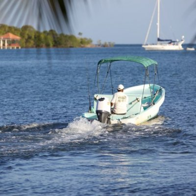 Local Watercraft of Belize - Panga Boats