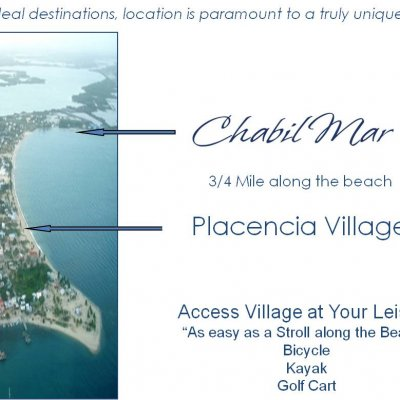 Placencia Village - 5 Minutes to Bike, Kayak or Golf Cart - 10 Minute Stroll Along the Beach