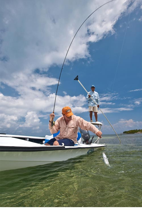Fly Fishing at Turneffe Atoll