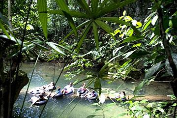 River Tubing Belize