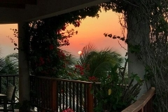 A Stunning Sunrise from a Villa Veranda - Good Morning from Chabil Mar