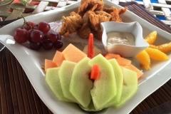 Dining al fresco - Cafe Mar - Chabil Mar Resort Belize