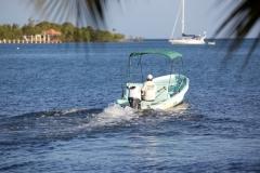 Local Watercraft of Belize - Panga Boats