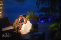 Evening Wedding Glow of the Pier - Romantic