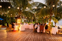 Evening Receptions on the Beach