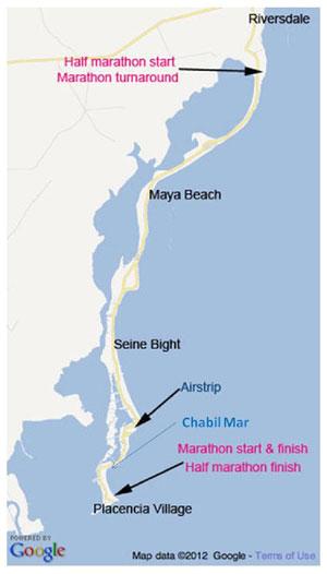Marathon Adventure Map